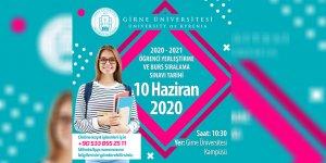 Girne Üniversitesi'nin burs sıralama sınavı 10 Haziran'da…
