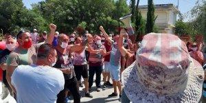 İşçilerin eylemine YKP'den destek