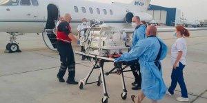 10 günlük bebek ambulansla İsrail'e uçtu
