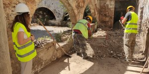 Ermeni Manastırı'nda çalışmalar yeniden başladı