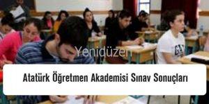 Öğretmen Akademisi SINAVI tamamlandı