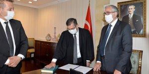 Başsavcı Yardımcısı Muavini Varol bağlılık yemini etti