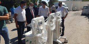 Mimar ve mühendislerden 3 mekanik ventilatör bağışı