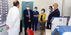 Akıncı'dan Gazimağusa Devlet Hastanesi'ne ziyaret