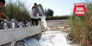 """""""Günde 80- 100 ton süt dökülecek"""""""
