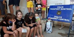 Pile'deki çocuklara PCR testi