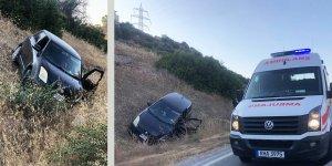 Alagadi-Girne yolunda kaza