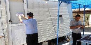 İskele Belediyesi sınırlarındaki karavanlar kaldırılıyor