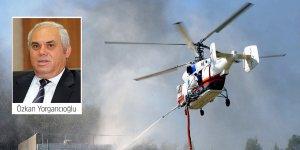 """""""2014'te kiralanan helikopter onlarca yangını söndürmüştü"""""""