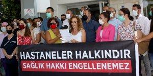 """""""Nalbantoğlu, Pandemi hastanesi olmamalı"""""""