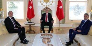 Tatar Erdoğan ile bir araya geldi