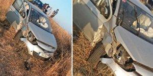 Trafik kazası: İki çocuk hastaneye kaldırıldı