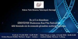 """""""Sinevizyon Uluslararası Kısa Film Festivali"""" ödül töreni Lefkoşa'da yapılacak"""