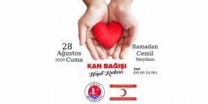 Girne'de kan bağış kampanyası