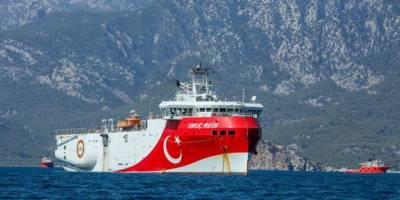 Oruç Reis gemisinin çalışma süresi 1 Eylül'e kadar uzatıldı