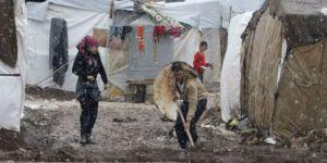 Sığınmacıların soğukla mücadelesi