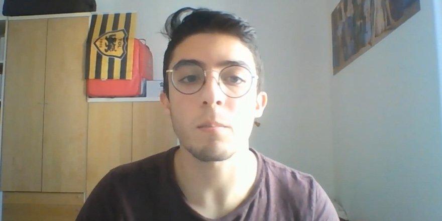 """Kıbrıslı Türk gençten uyarı :  """"virüsü ciddiye alın"""""""