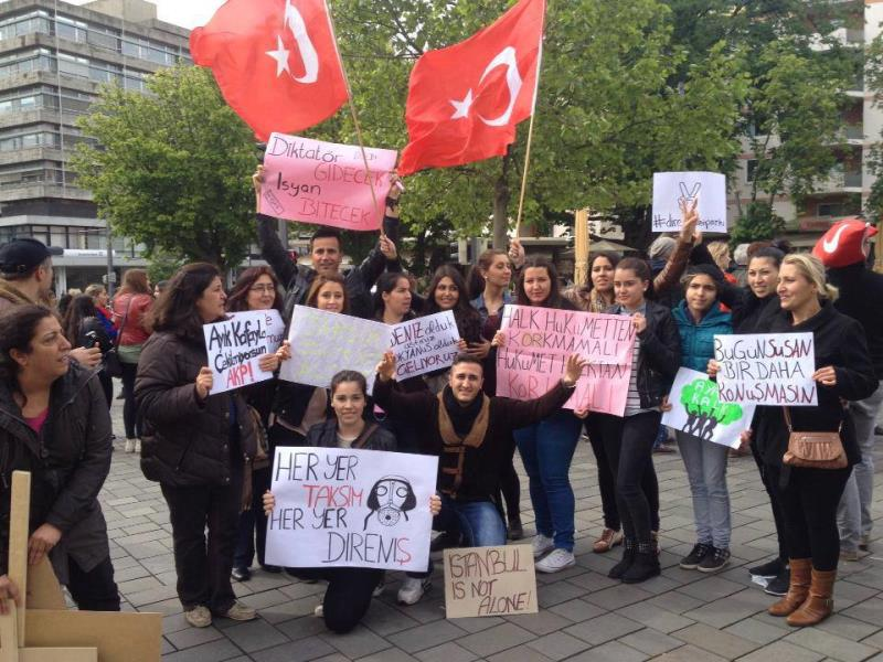 Her yer Taksim, Her yer Direniş 9