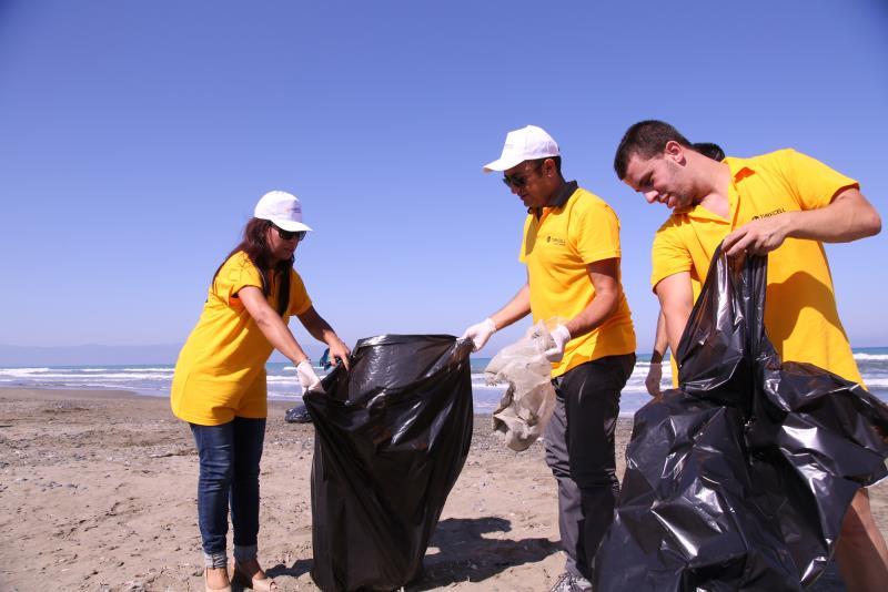 Sahiler temiz, kaplumbağalar koruma altında 1