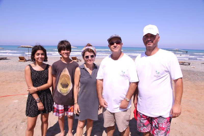 Sahiler temiz, kaplumbağalar koruma altında 10