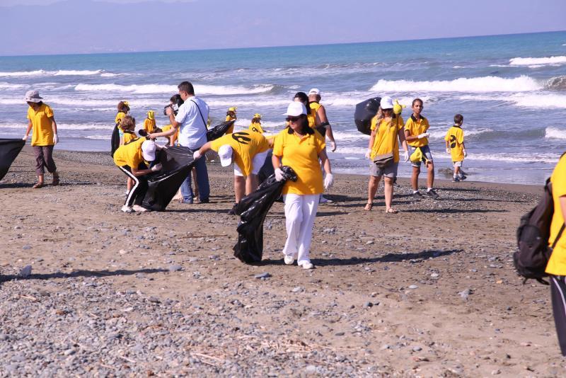 Sahiler temiz, kaplumbağalar koruma altında 3