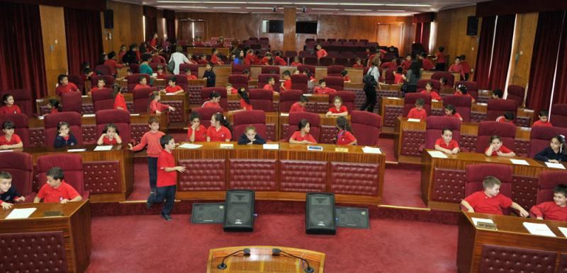 Mecliste çok özel konuklar vardı 2