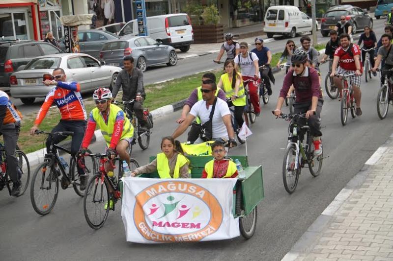 Pedaller barış için çevrildi 10