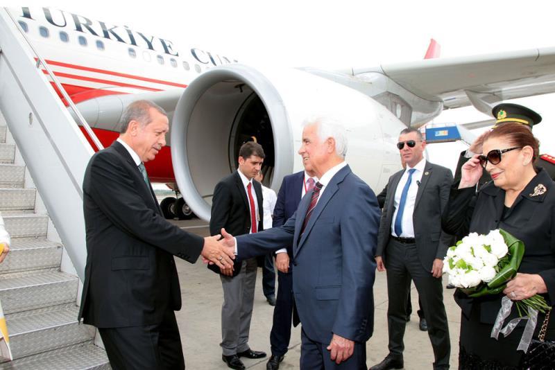TC Cumhurbaşkanı Erdoğan Kuzey Kıbrıs ziyareti 1