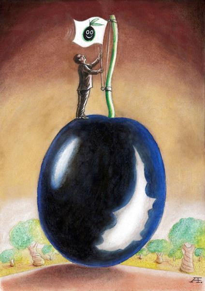 3. Uluslararası Zeytin Karikatürleri Yarışması 12