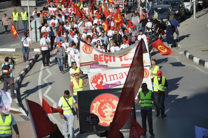 1 Mayıs Taksim Sahasında kutlandı 1