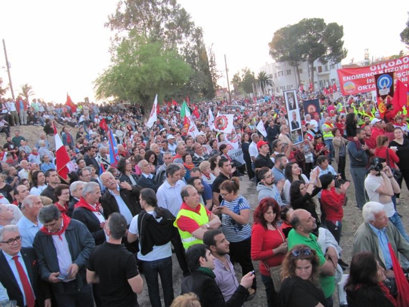 1 Mayıs Taksim Sahasında kutlandı 28