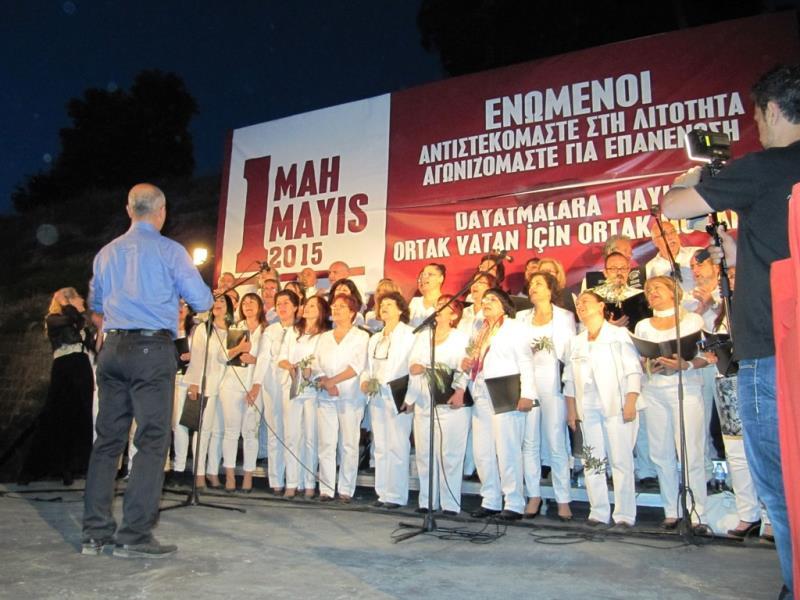 1 Mayıs Taksim Sahasında kutlandı 30
