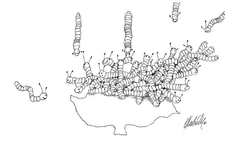 Kıbrıs Karikatürleri İstanbul'da Sergileniyor... 10