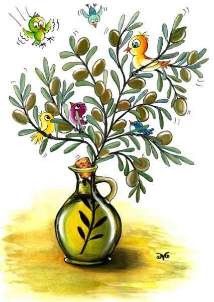 4. Uluslararası Zeytin Karikatürleri Yarışması 2015 6
