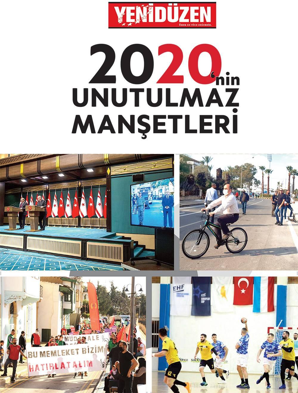 2020'nin UNUTULMAZ MANŞETLERİ 1