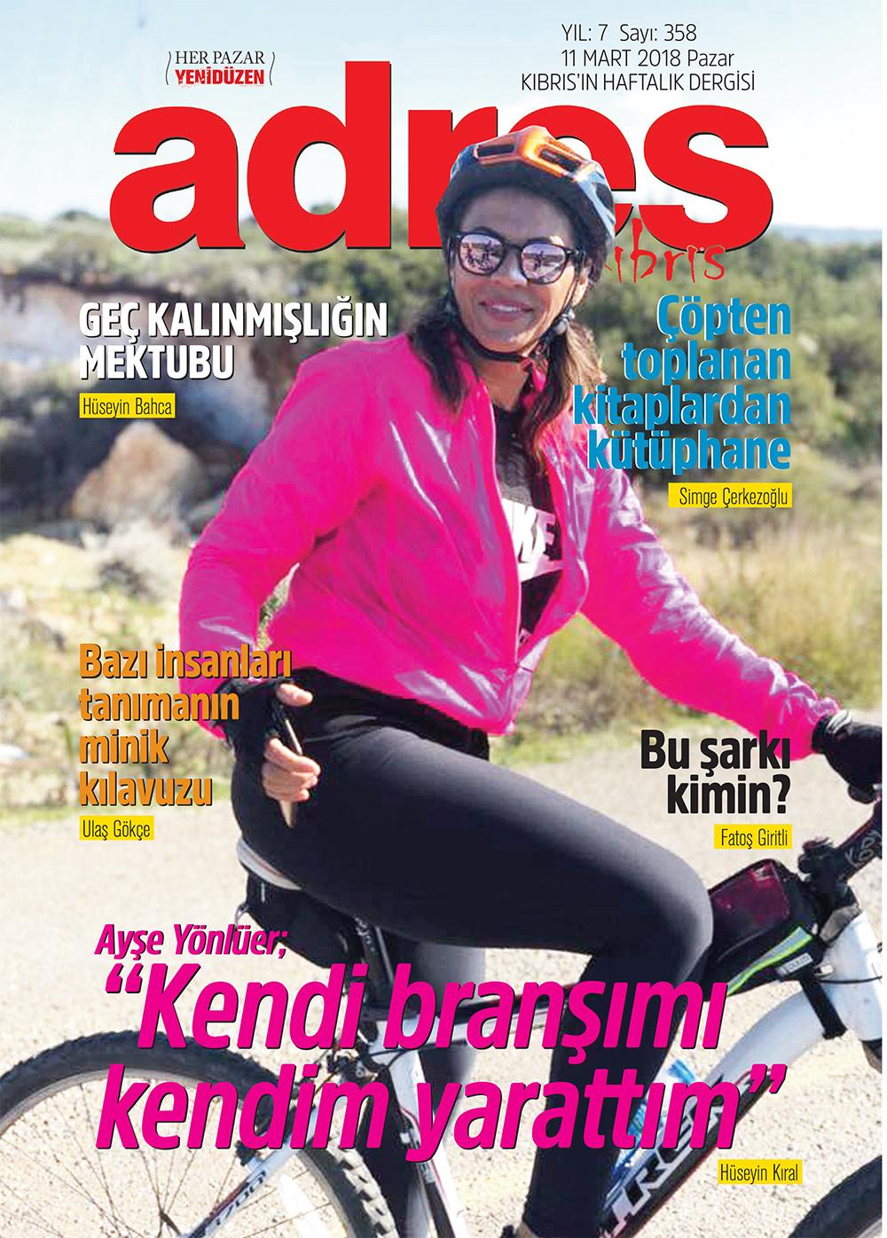 Adres Kıbrıs 358 Sayısı