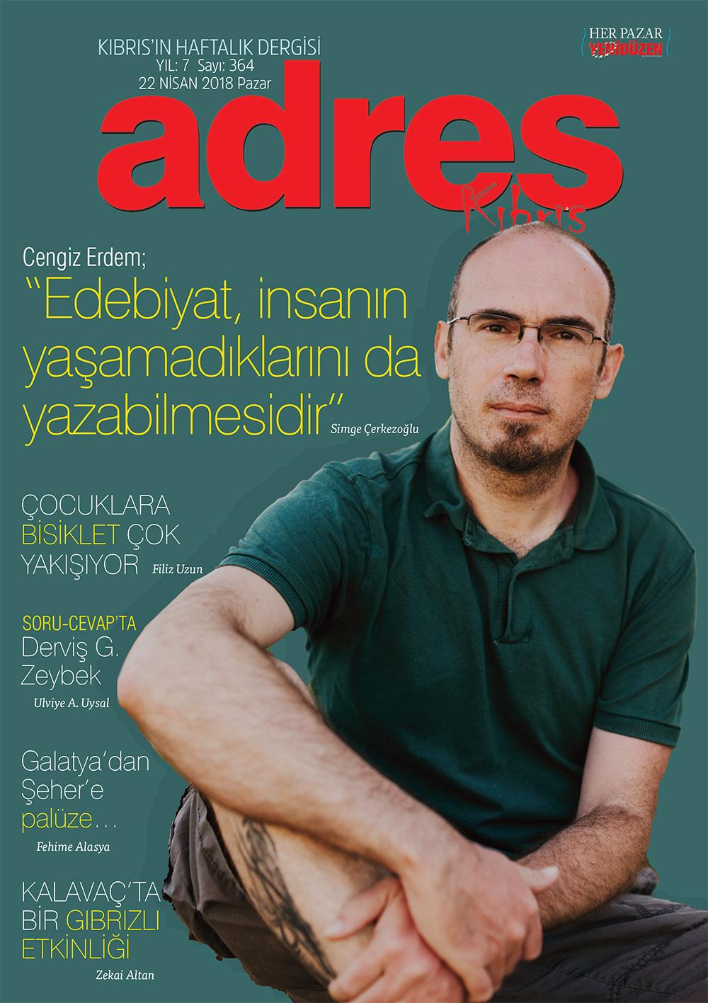 Adres Kıbrıs 364 Sayısı