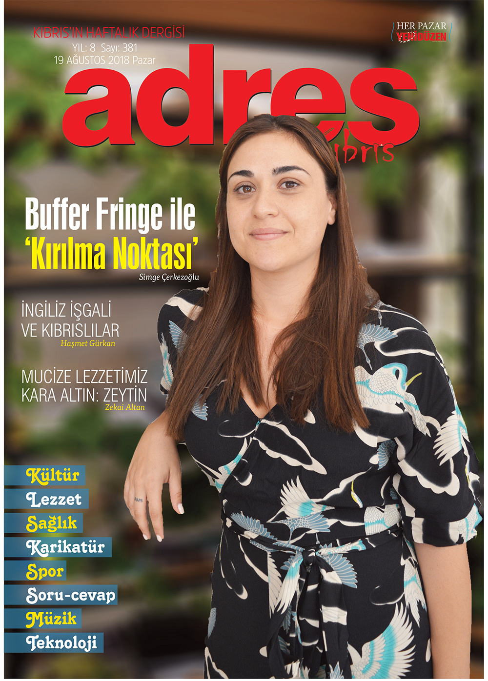 Adres Kıbrıs 381 Sayısı