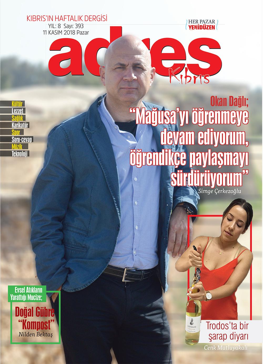 Adres Kıbrıs 393 Sayısı
