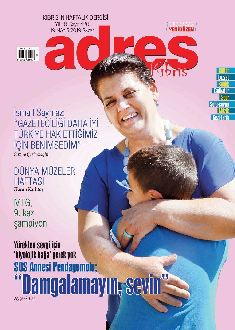 Adres Kıbrıs 420 Sayısı ISSN 2672-7560