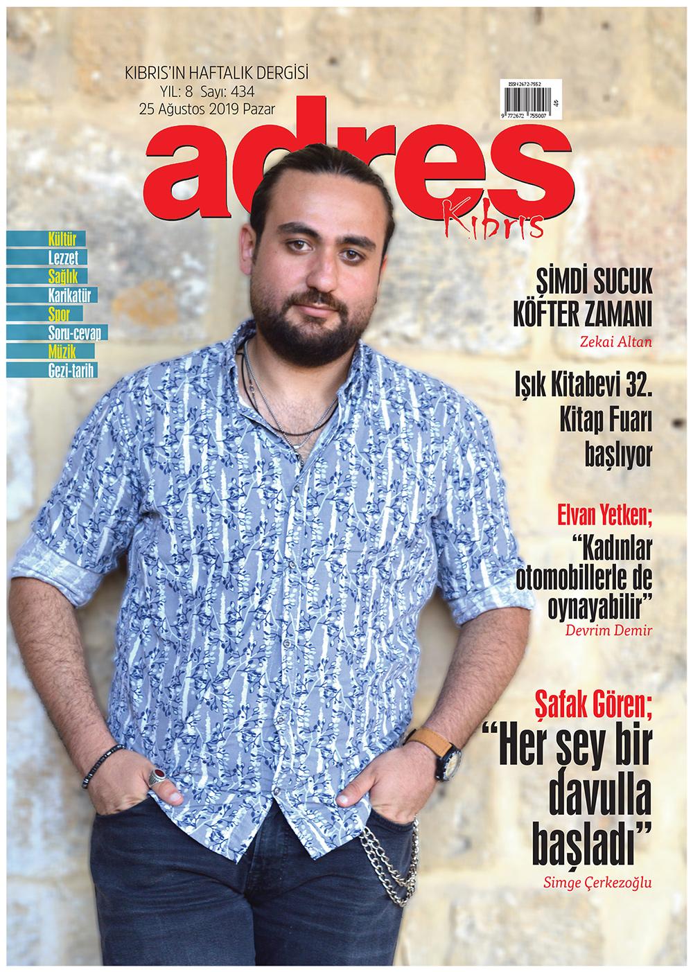Adres Kıbrıs 434 Sayısı ISSN 2672-7560