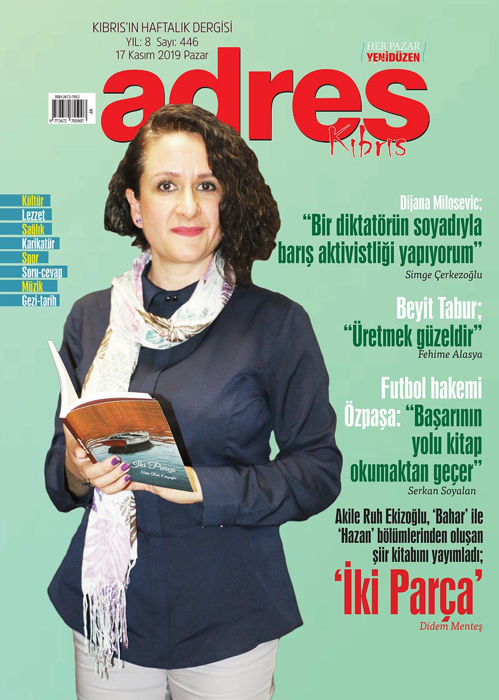Adres Kıbrıs 446 Sayısı ISSN 2672-7560