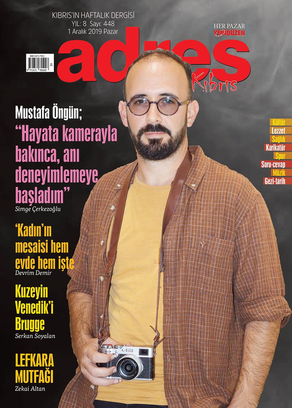 Adres Kıbrıs 448 Sayısı ISSN 2672-7560