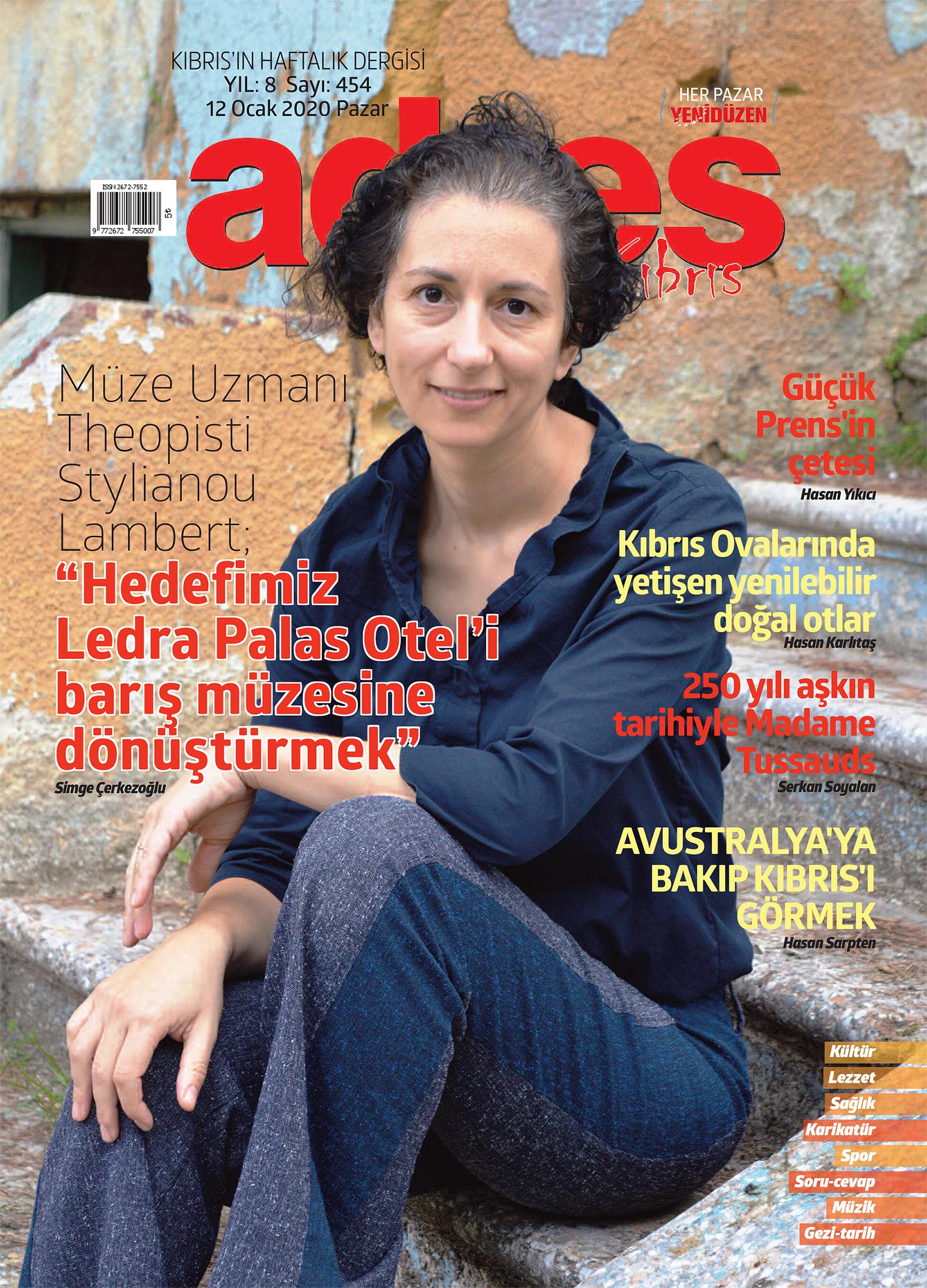 Adres Kıbrıs 454 Sayısı ISSN 2672-7560