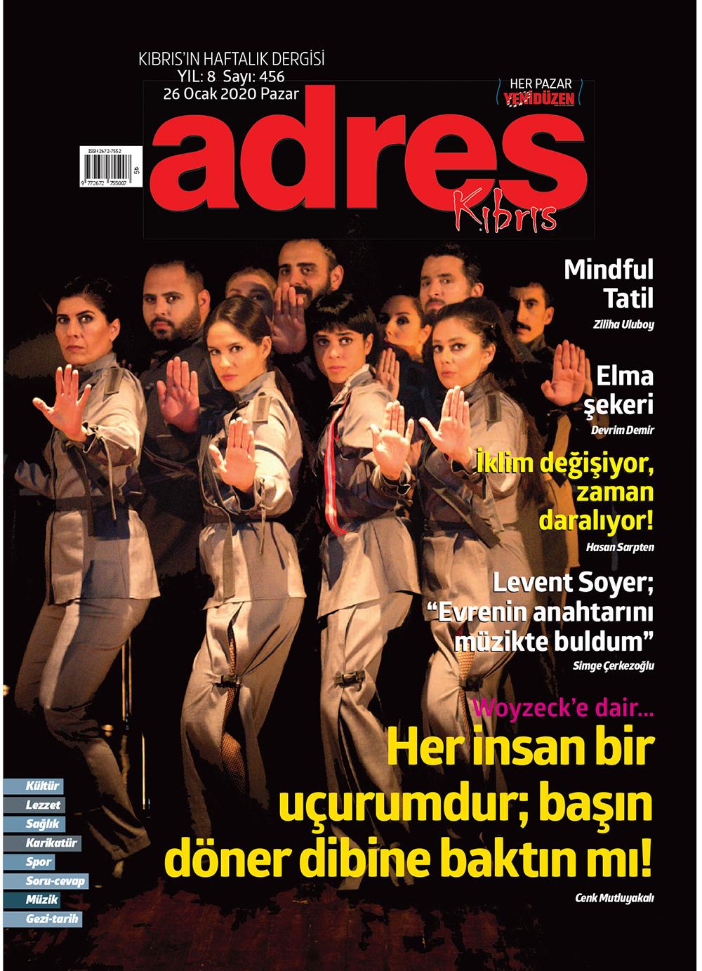 Adres Kıbrıs 456 Sayısı ISSN 2672-7560