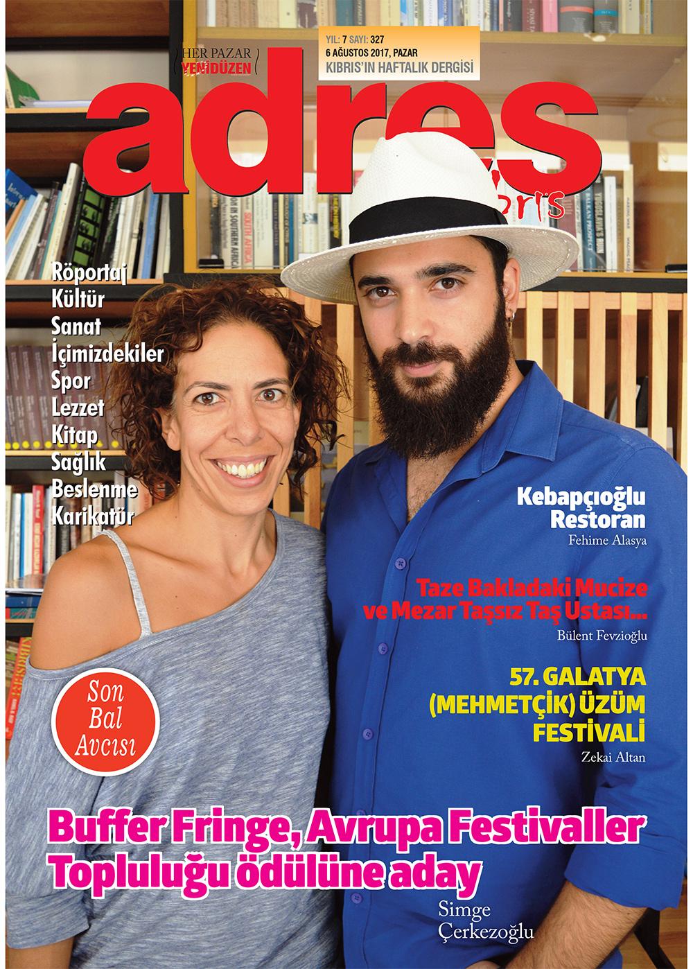 Adres Kıbrıs 327 Sayısı