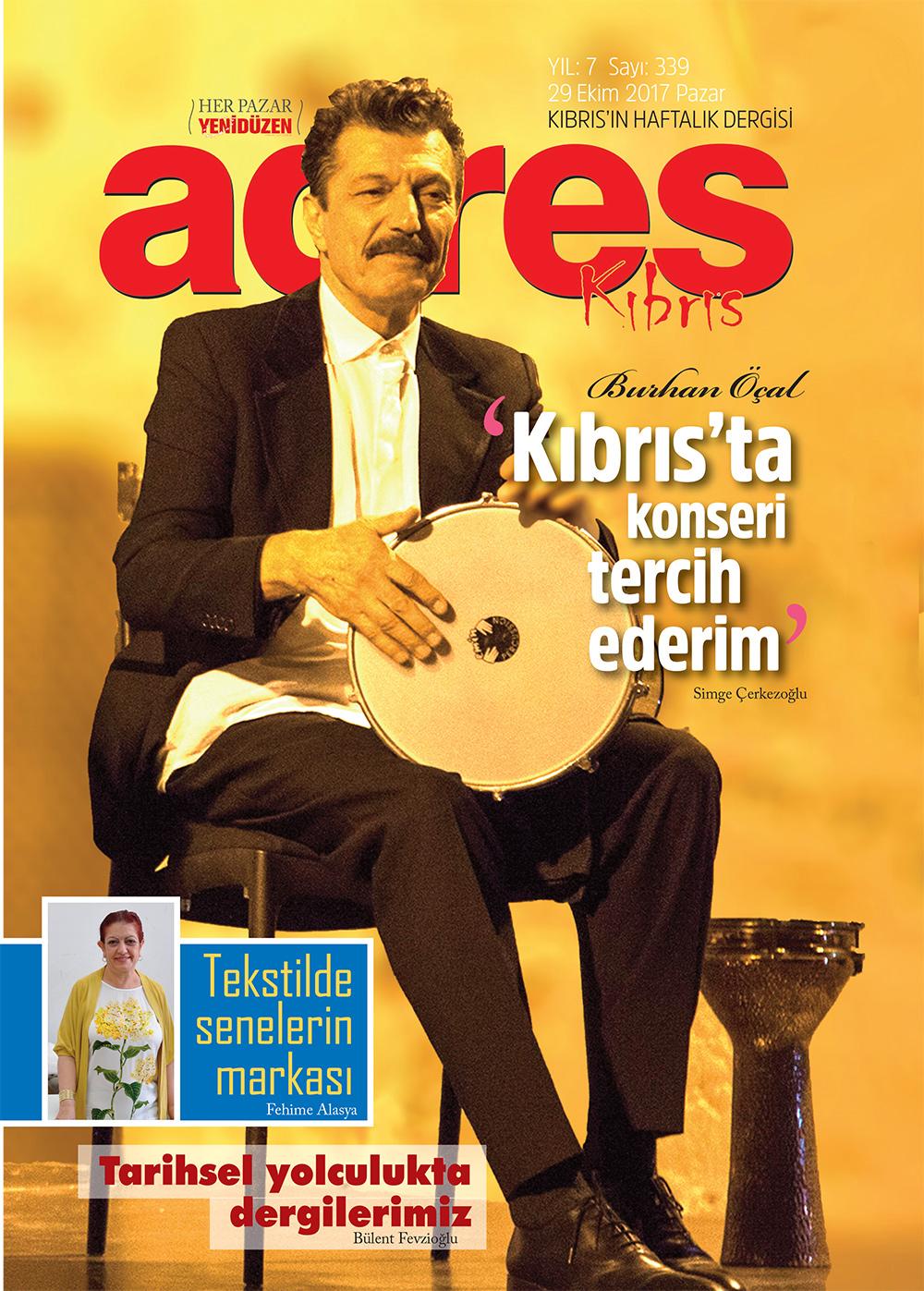 Adres Kıbrıs 339 Sayısı