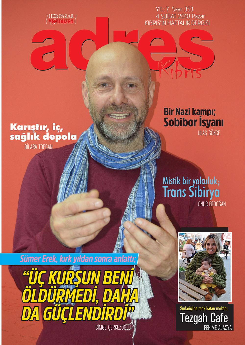 Adres Kıbrıs 353 Sayısı