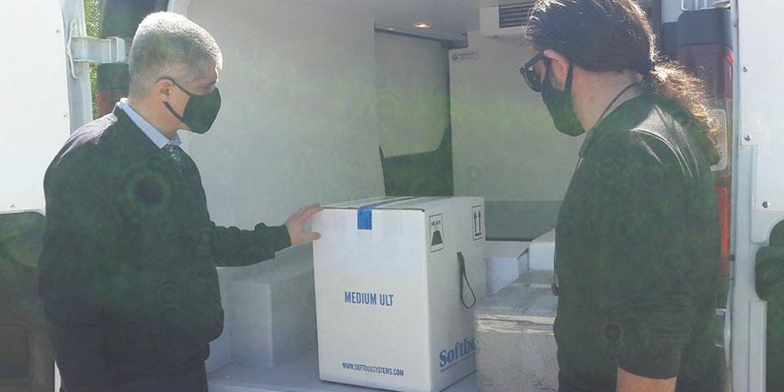 1170 doz Pfeizer/BioNTech, 2400 doz AstraZeneca aşısı teslim alındı
