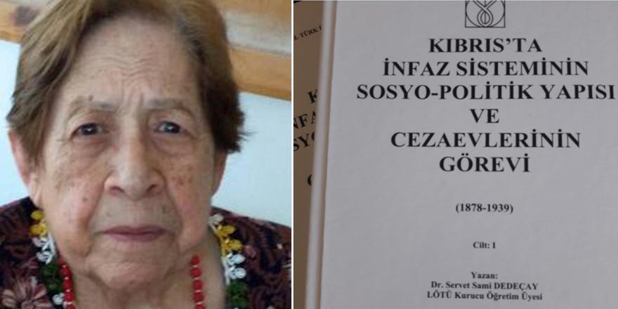 Dr. Servet Sami Dedeçay'ın iki ciltlik eseri yayımlandı